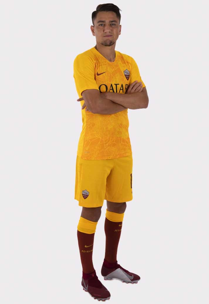 adcf3a84646 Nike Launch The Roma 18 19 Third Shirt - SoccerBible