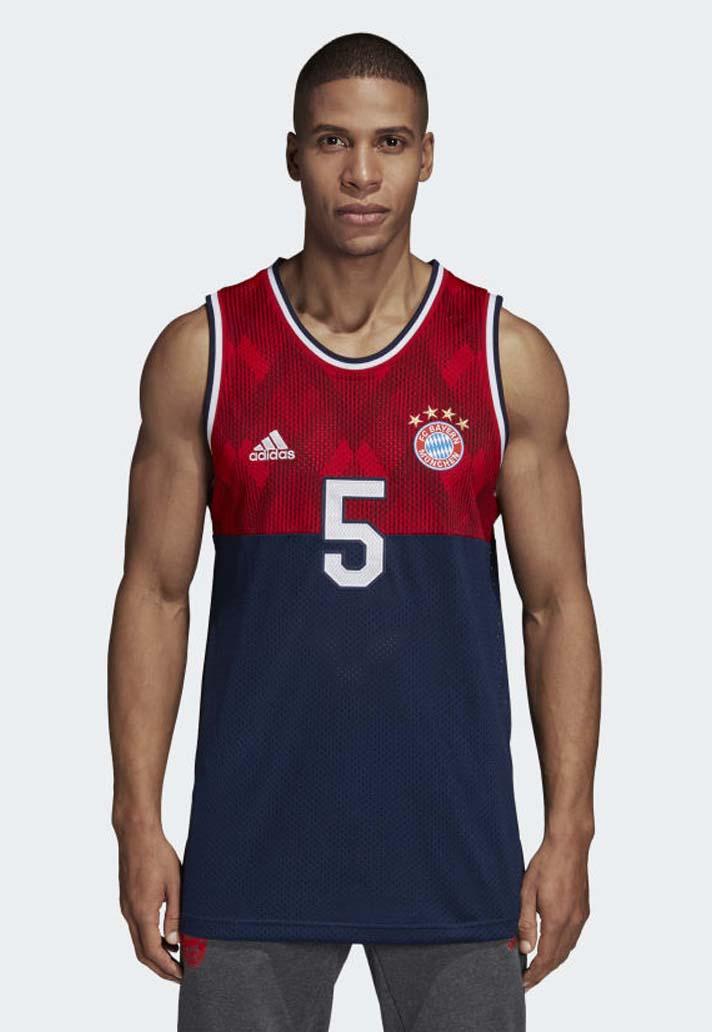 1561294aff8 adidas Launch Club Basketball Jerseys for Bayern, Juve, United ...