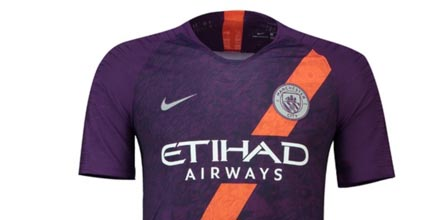 Nike Launch Man City 18/19 Third Shirt - SoccerBible