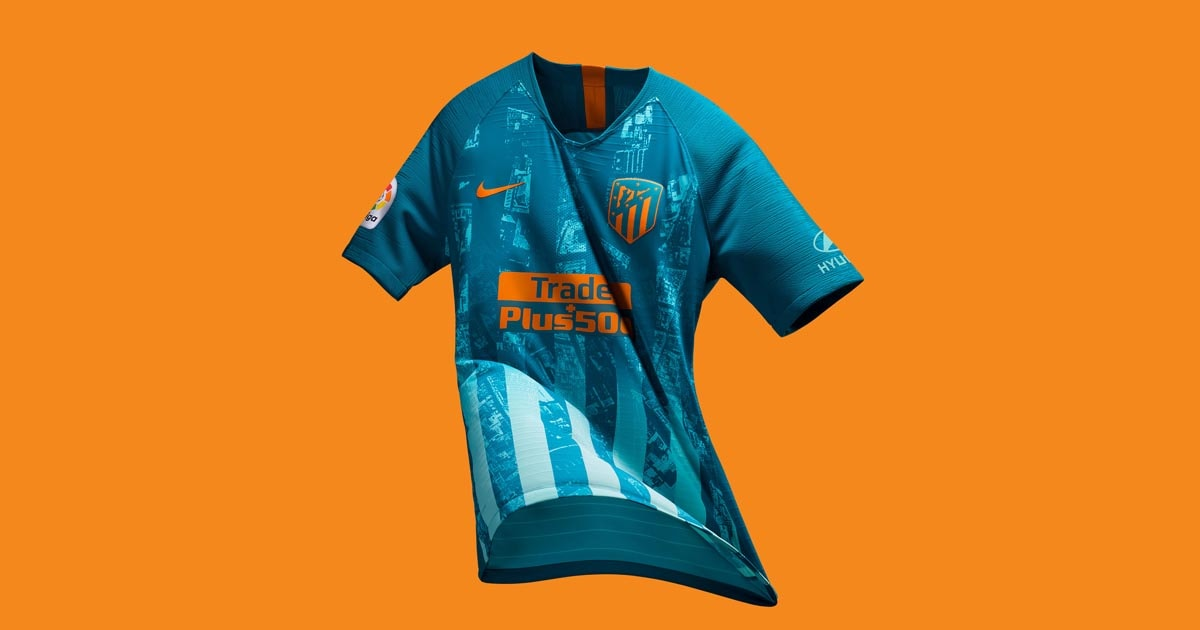 4c10942d Nike Launch Atletico Madrid 18/19 Third Shirt - SoccerBible.