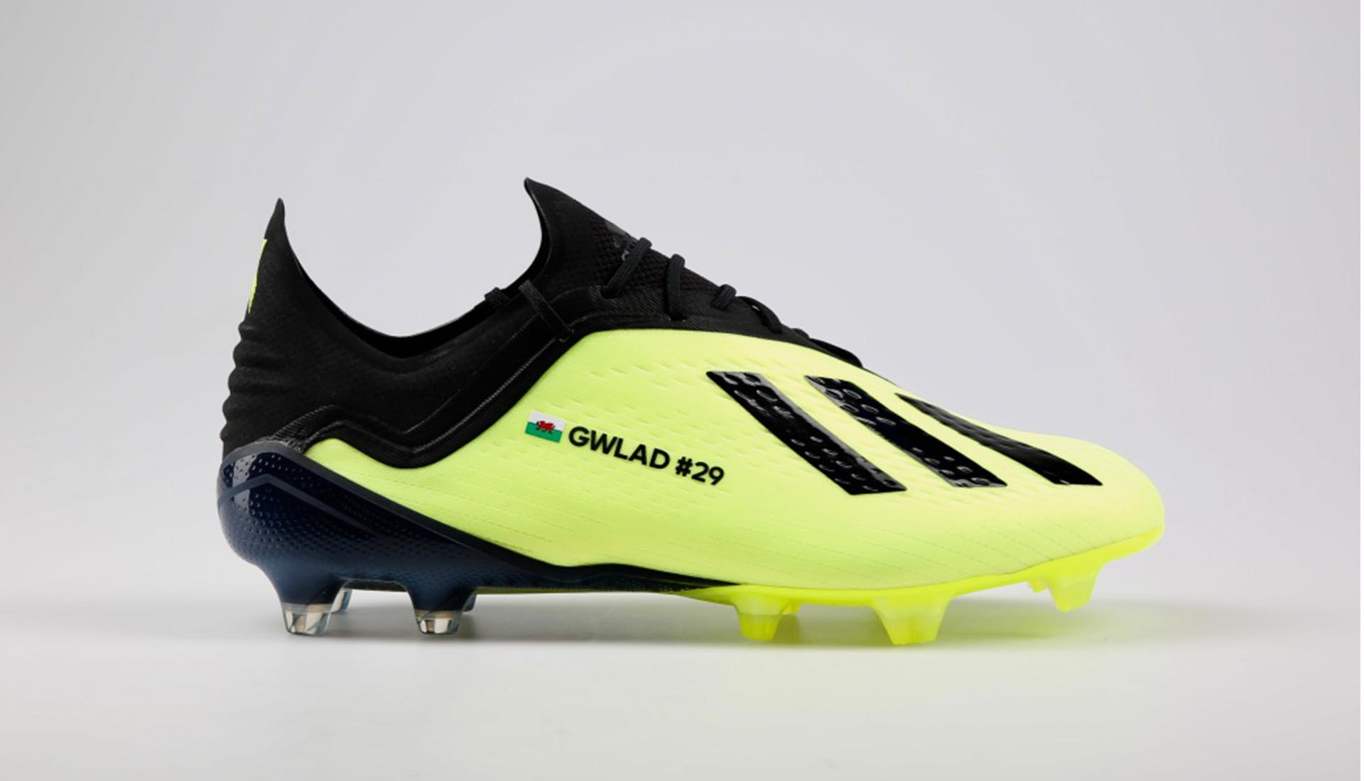 adidas Recognise Bale s Wales Scoring Record With Custom X 18.1 Boots -  SoccerBible. 64bcc2676