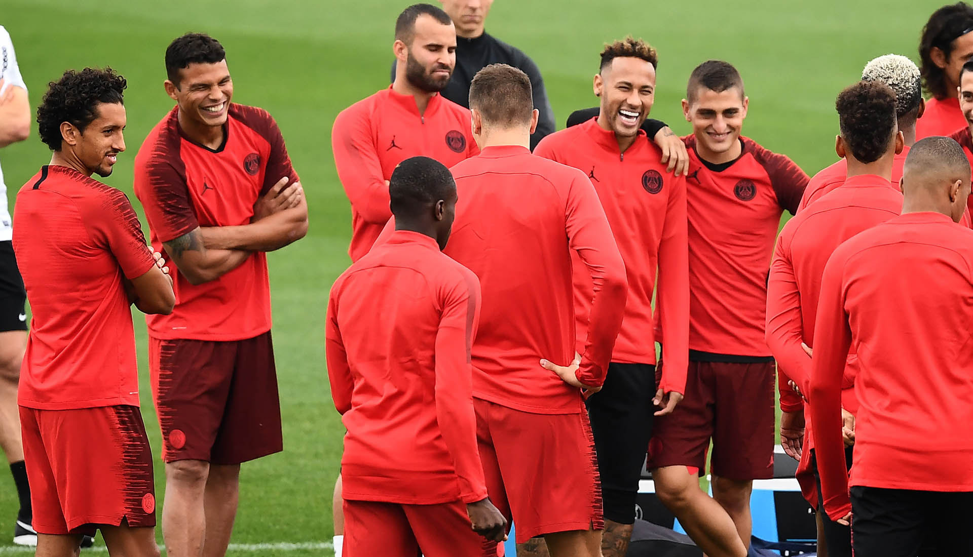 great deals 2017 cheap price to buy PSG Train in Nike Jordan Apparel and Boots For The First ...