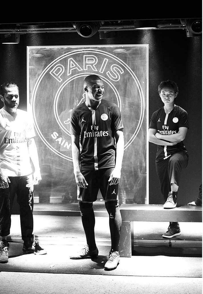 Nike and PSG Launch 18 19 Jordan Collection at Parc des Princes ... 5d06e7363
