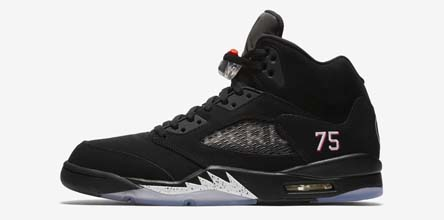 48446a438141 Closer Look at the Air Jordan 5 PSG Family & Friends Edition ...