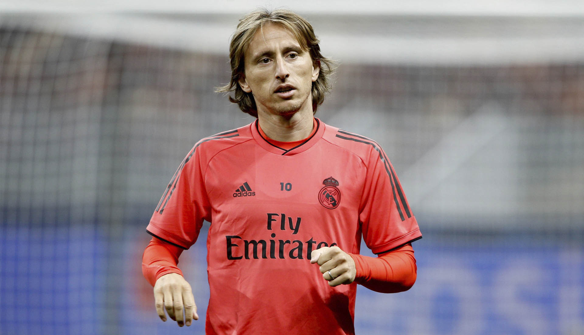 brand new 0f991 4d475 Luka Modric Trains in Special Edition 'Best Player ...