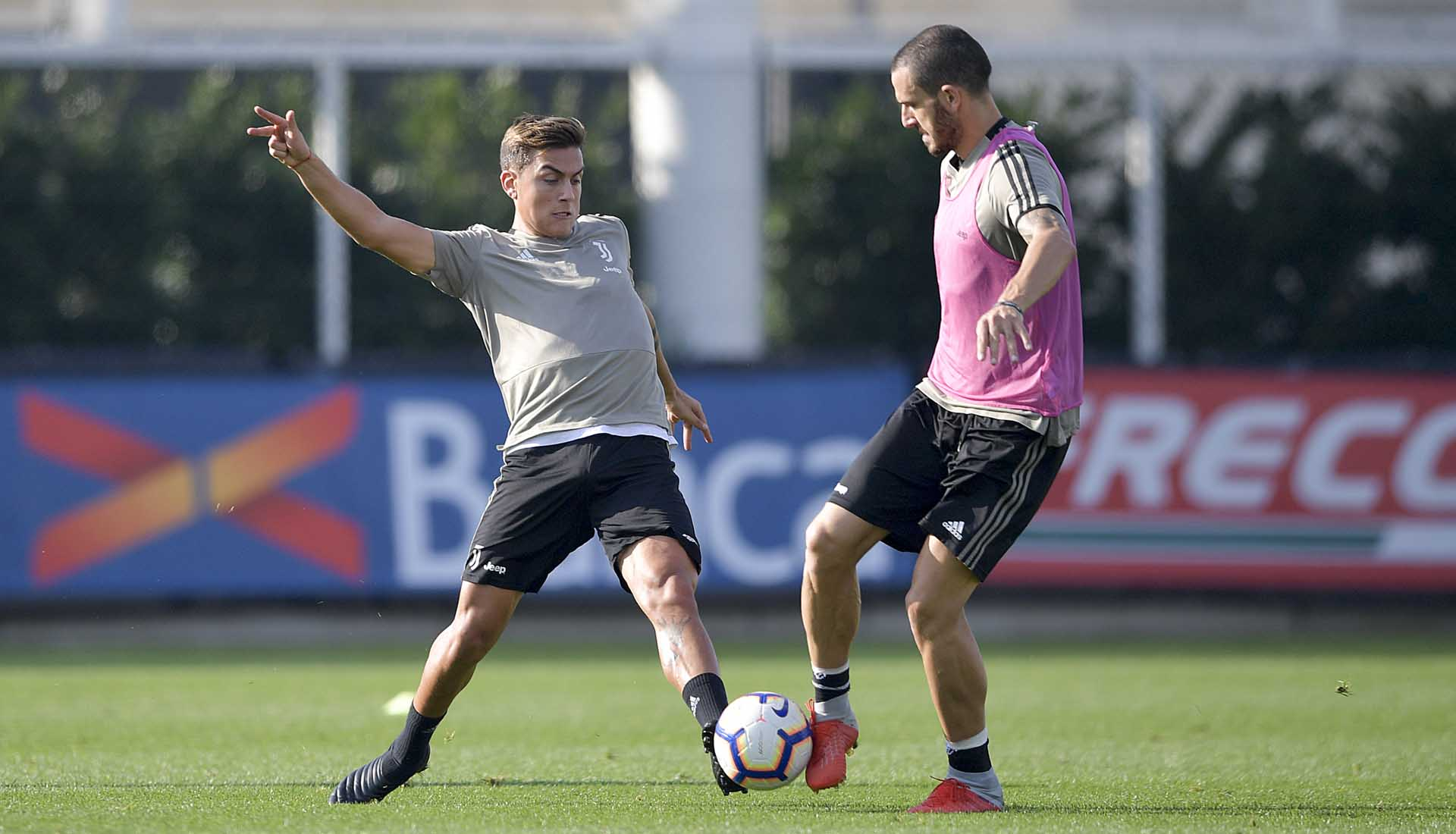 69a8a997d31 Paulo Dybala Trains in Blackout adidas Prototype Boots - SoccerBible.