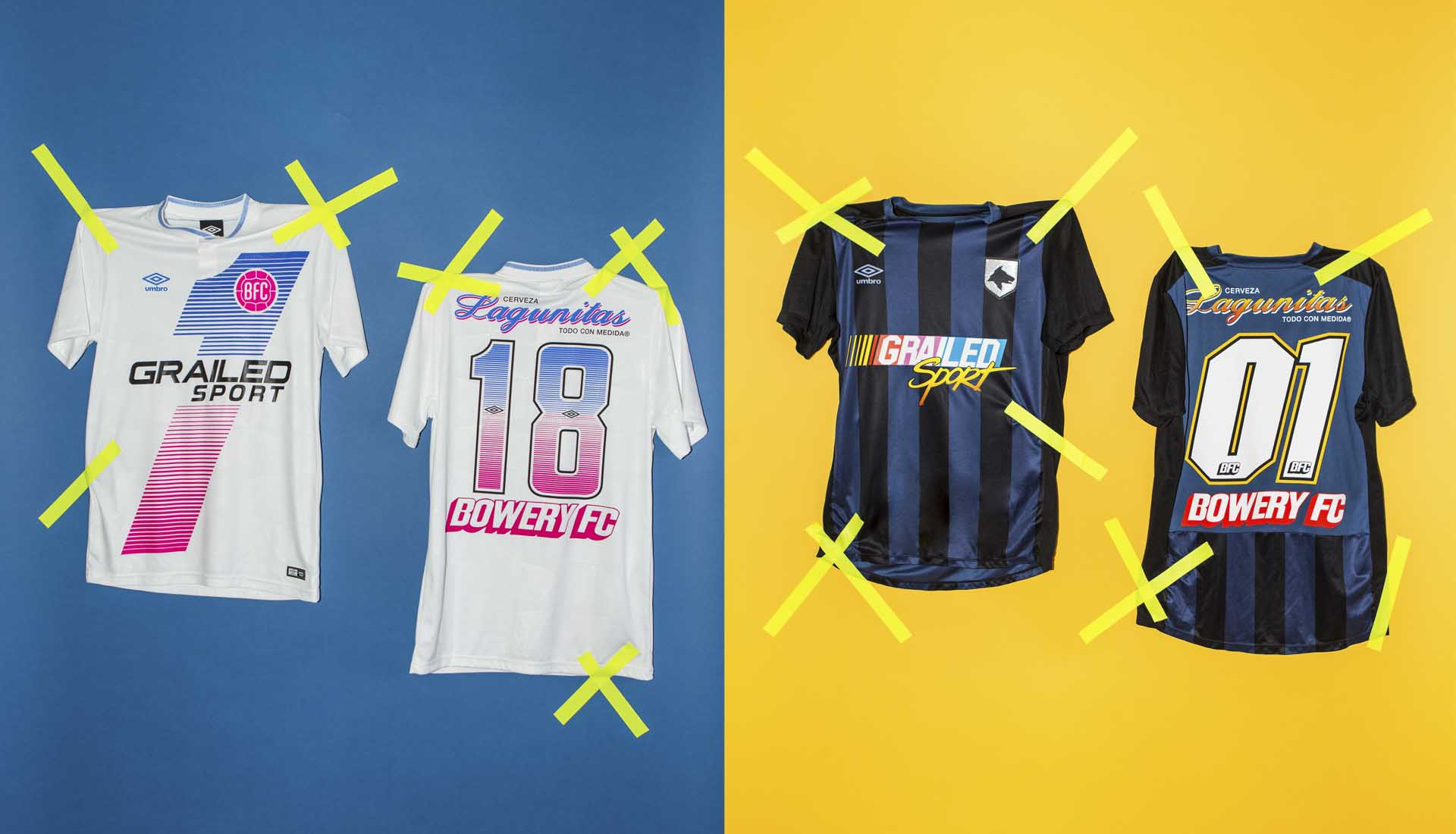 Bowery FC Drop Umbro Home   Away Jerseys for GRAILED - SoccerBible. 29d8fa027