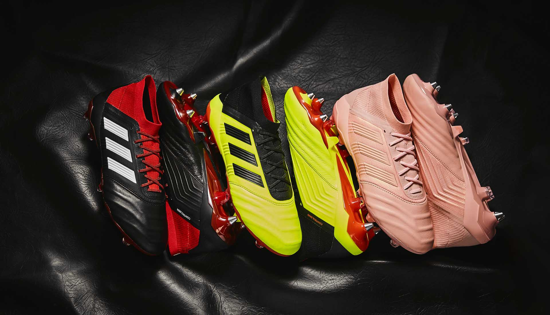 e6c932f8f50 adidas Launch the Predator 18.1 Leather Collection - SoccerBible