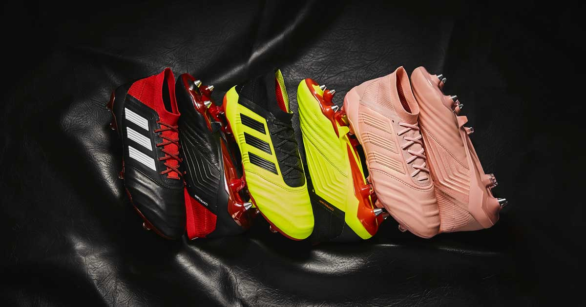 adidas Launch the Predator 18.1 Leather Collection SoccerBible