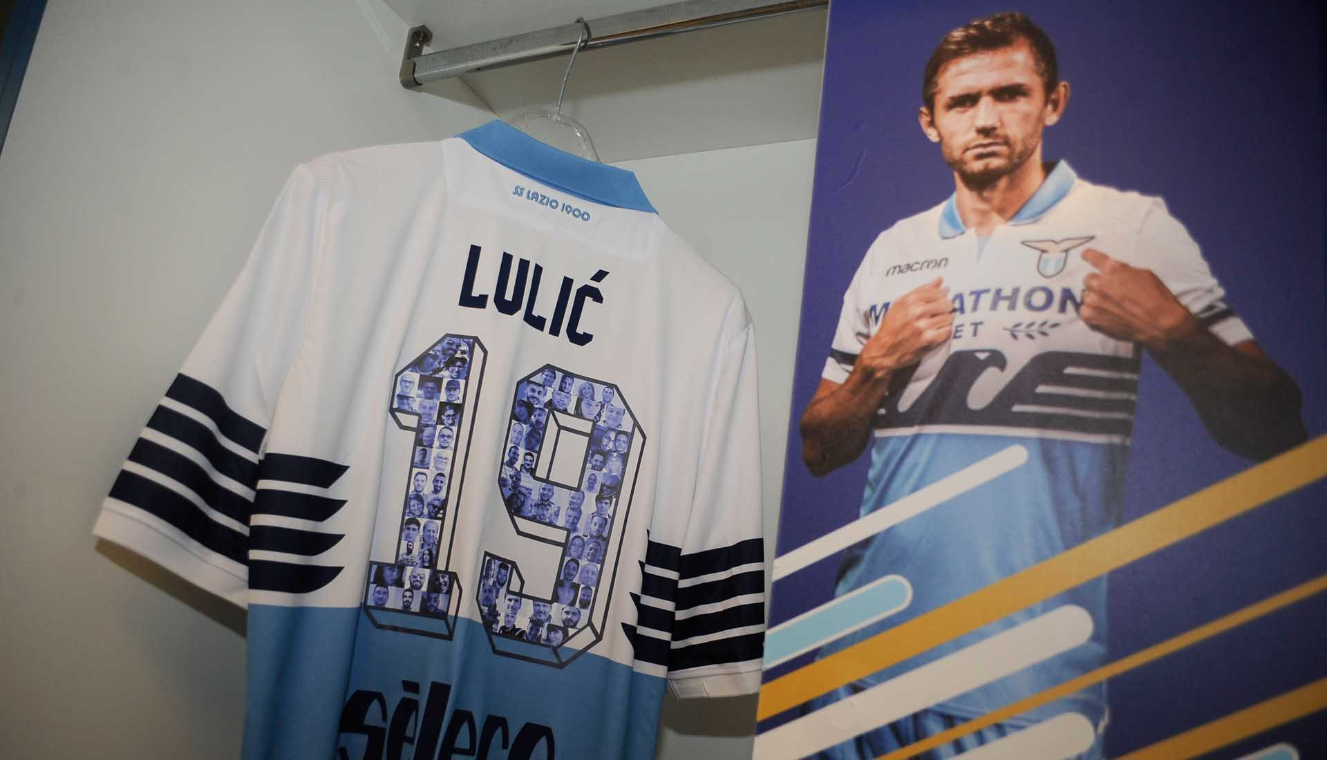 fc3bdc856 Lazio Wear Special Edition Shirt Numbers Against Inter - SoccerBible.