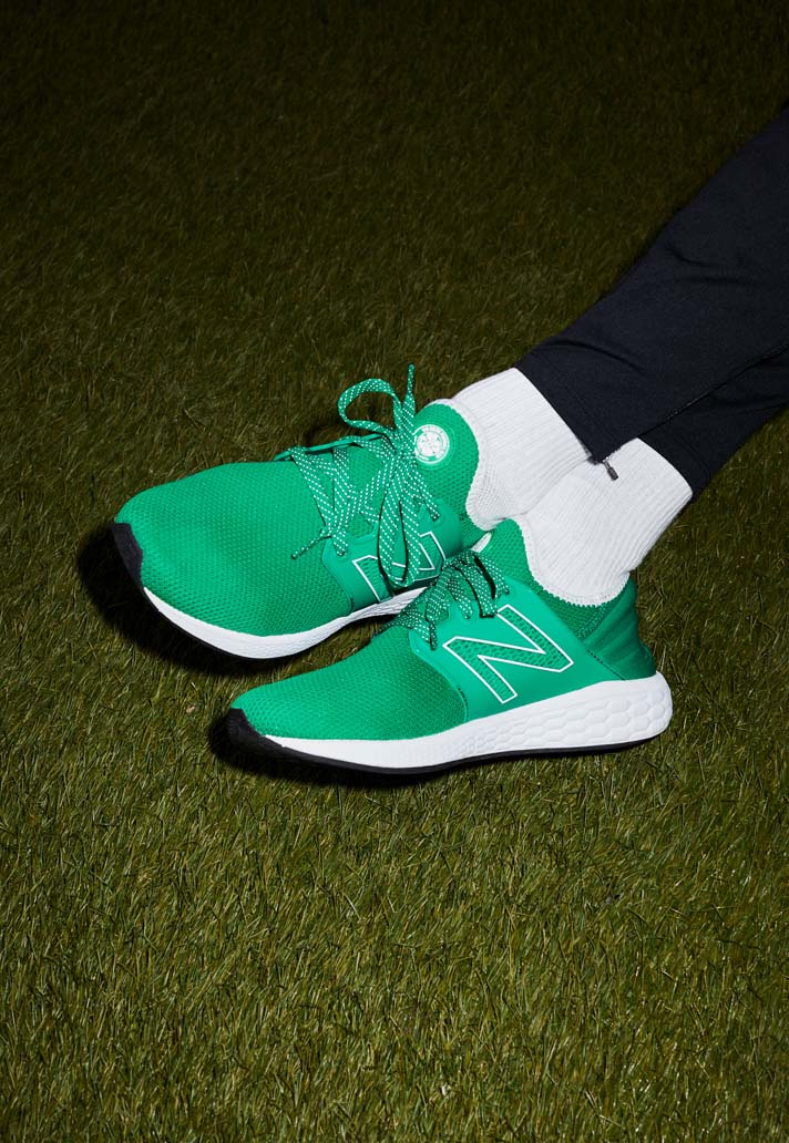 33f882f92 New Balance Drop Special Edition 'Celtic' Cruz Sneaker - SoccerBible