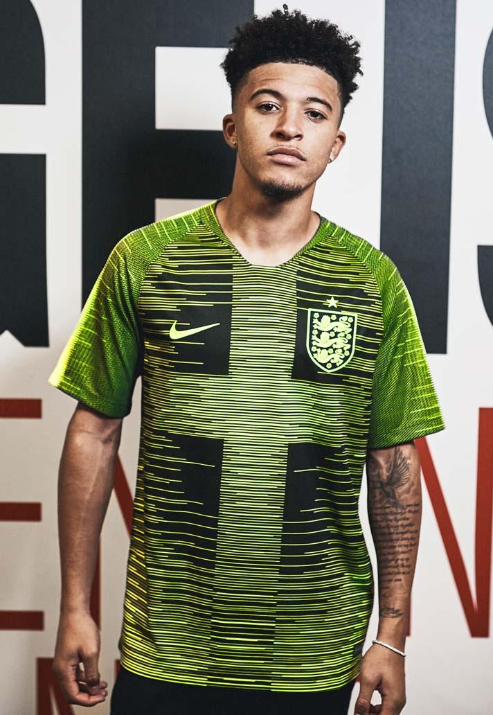 new style 1c919 071ce Jadon Sancho Reveals Special Edition England Pre-Match ...