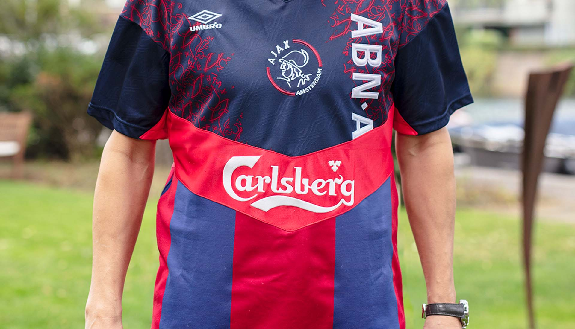 online store a8b46 7cf80 Jari Litmanen Receives Career Mash-Up Shirt - SoccerBible