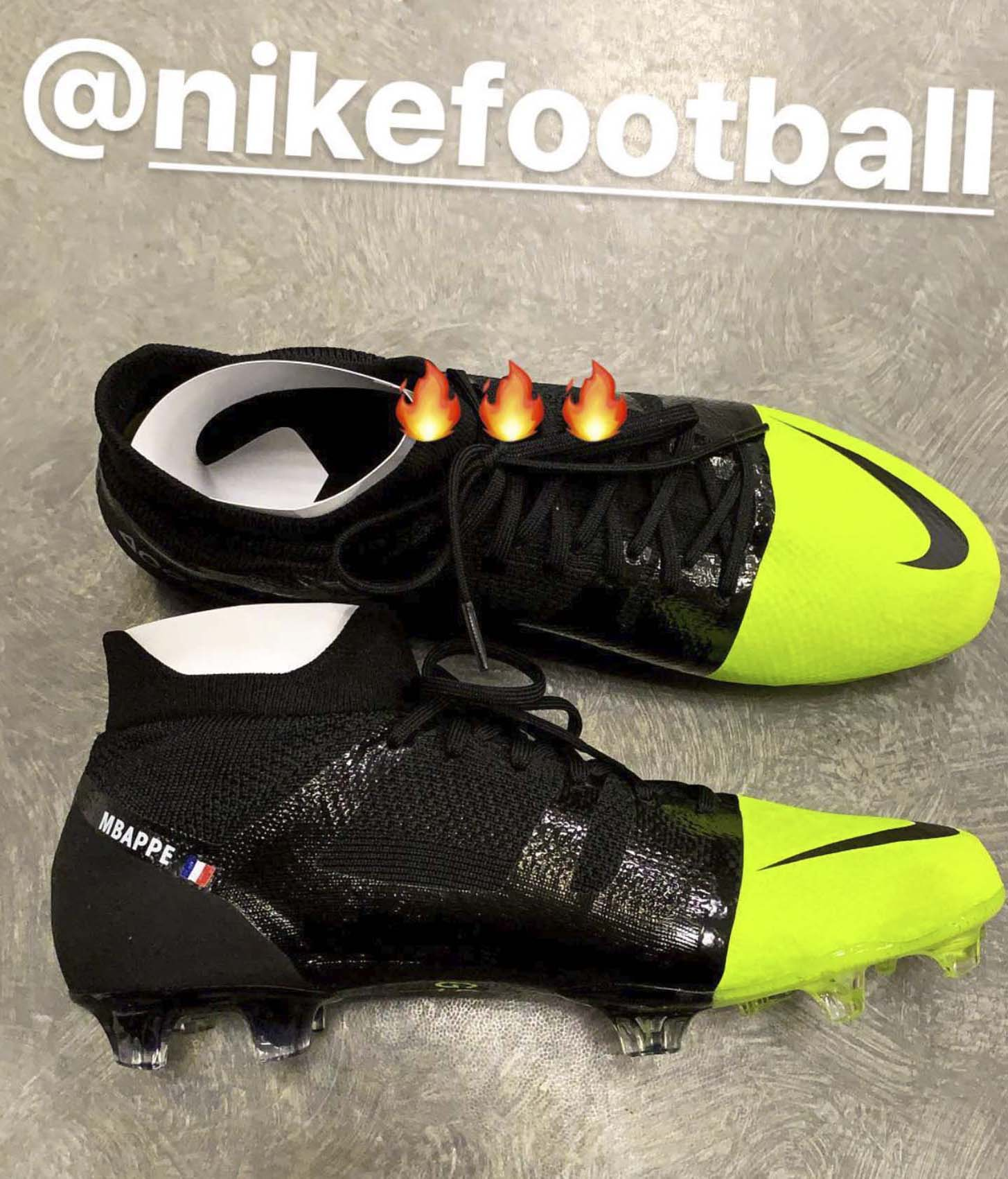 Golpe fuerte once Goneryl  Kylian Mbappe Teases Upcoming Nike GS Release - SoccerBible