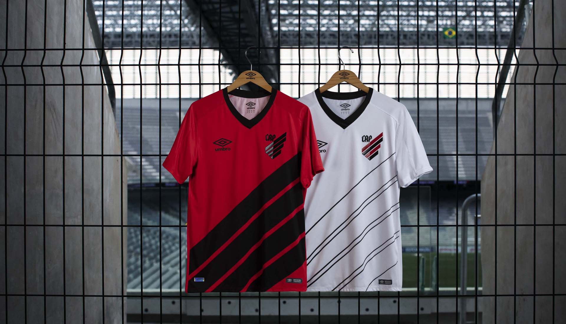 4423146c8e7 Umbro Launch Athletico Paranaense 2019 Home & Away Kits - SoccerBible.