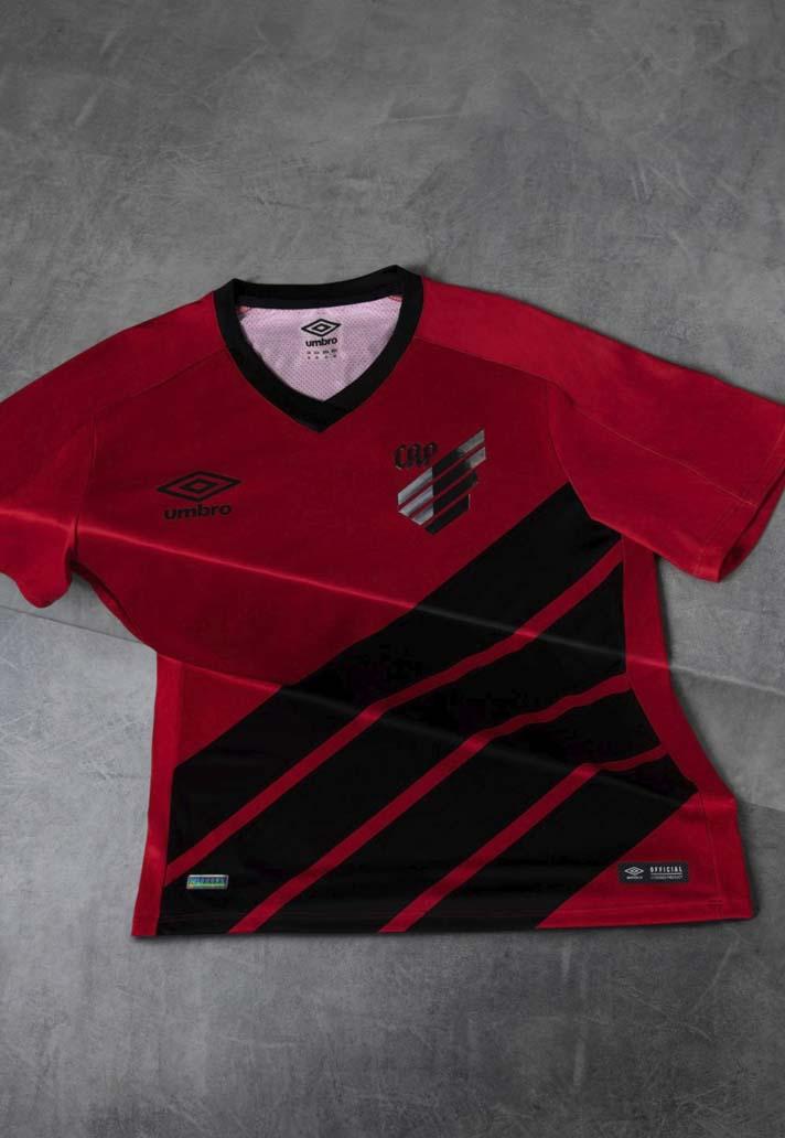 a9bb6432b5d Umbro Launch Athletico Paranaense 2019 Home   Away Kits - SoccerBible