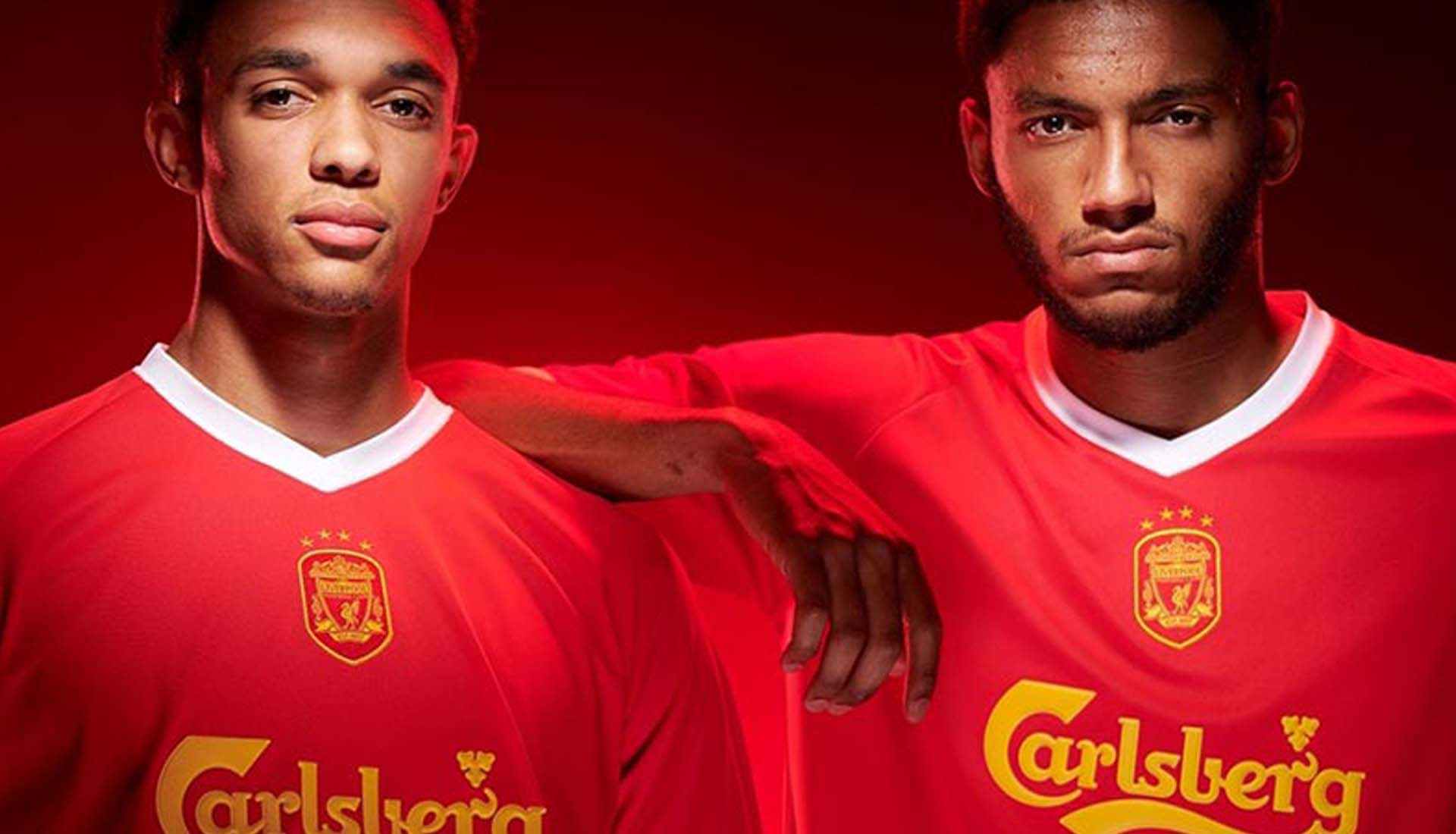4de2b283f36 Liverpool Players Launch Club s New Retro Collection - SoccerBible