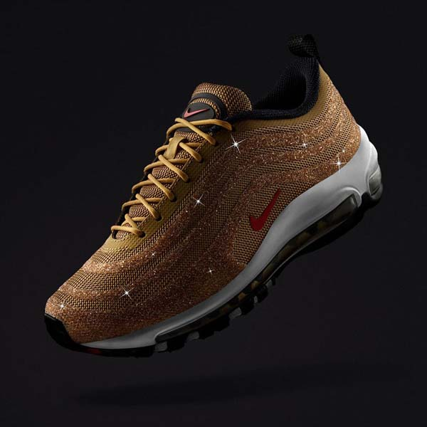 sports shoes 4b99d e2b65 Nike Reveal Swarovski x Air Max 97 LX