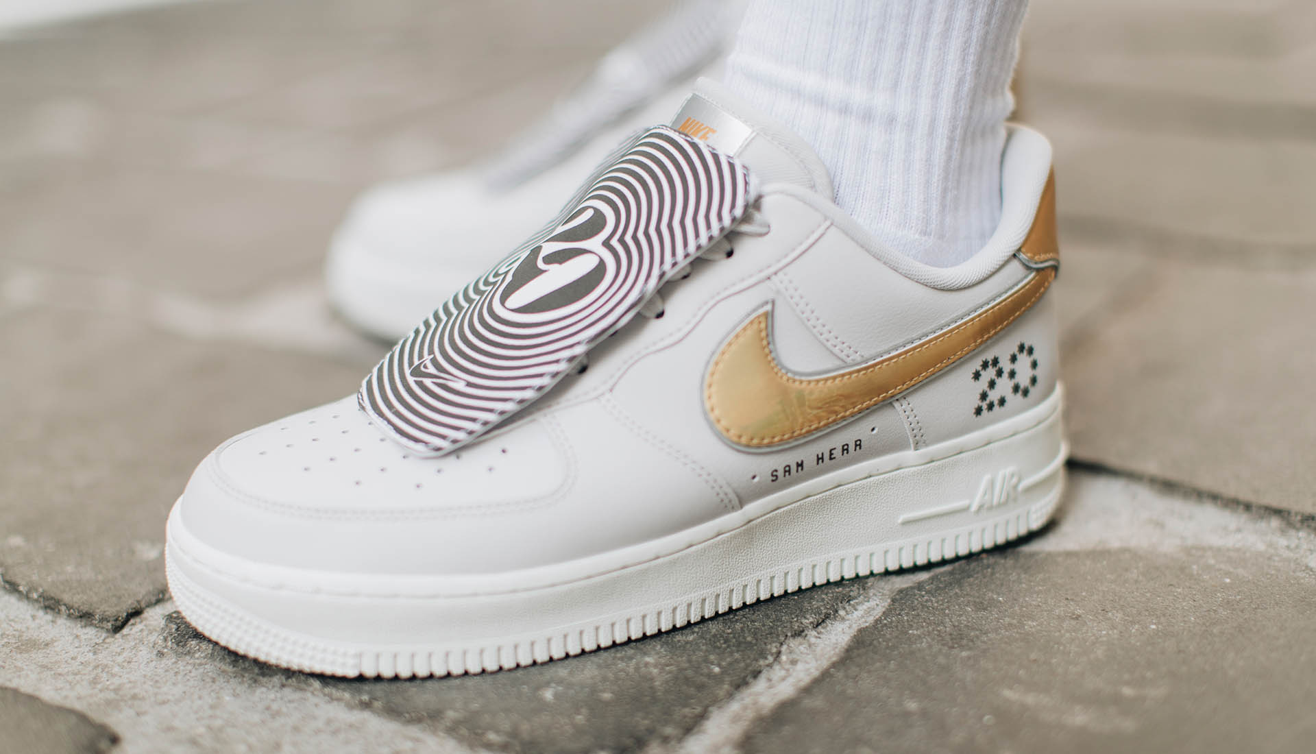 Nike Present Sam Kerr With Special Edition Air Force 1  SK20 ... f04d3f2f6