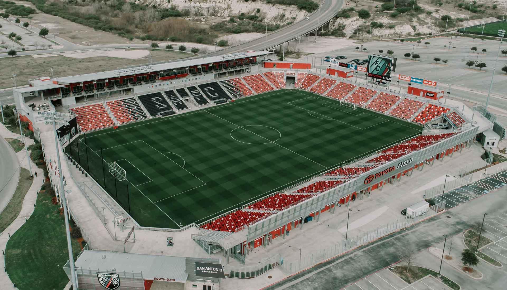 San Antonio Toyota >> Residence 55 Toyota Field San Antonio Fc Soccerbible