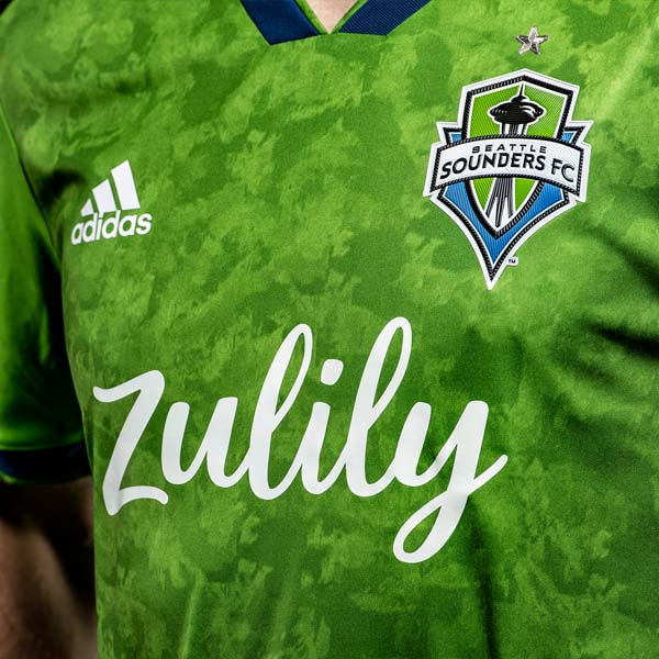 the latest 1804e 46ec2 adidas Launch Seattle Sounders Secondary Jersey - SoccerBible