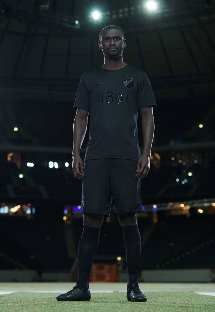 ffe072006 Nike Launch Stunning AIK 1891 Black Edition Jersey - SoccerBible.