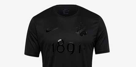 48abb688c Nike Launch Stunning AIK 1891 Black Edition Jersey - SoccerBible