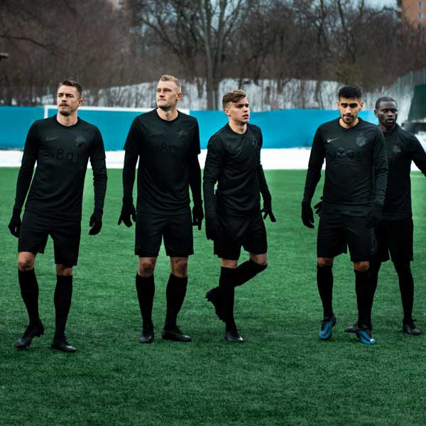482ce16bc AIK Debut Black Edition Jersey In First Pre-Season Match