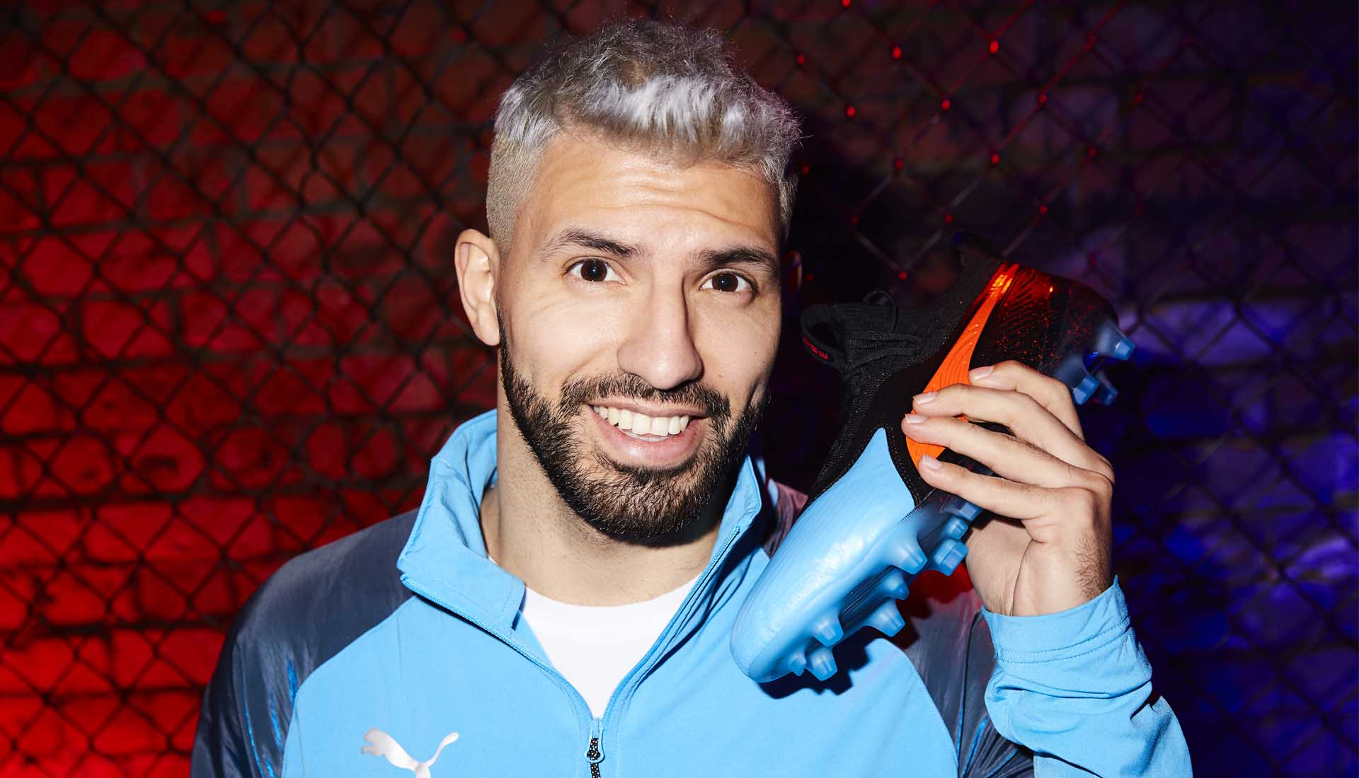 best choice factory outlets many fashionable Sergio Agüero Talks PUMA & Manchester City Heroics - SoccerBible