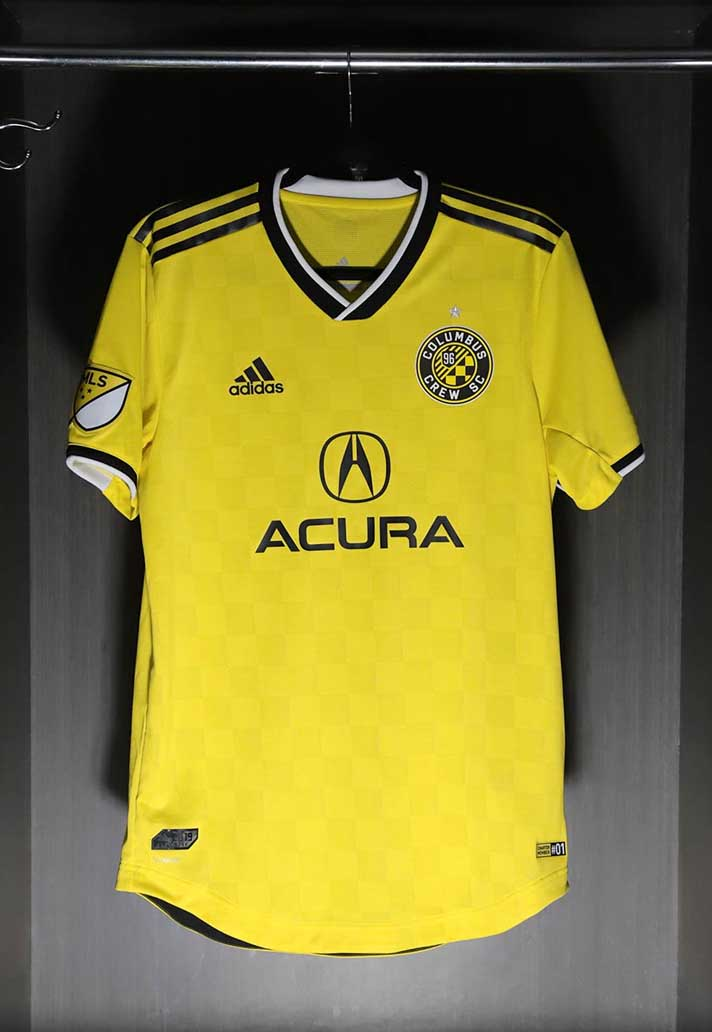 967cecb59c7 Columbus Crew Unveil adidas 2019 Home Jersey - SoccerBible