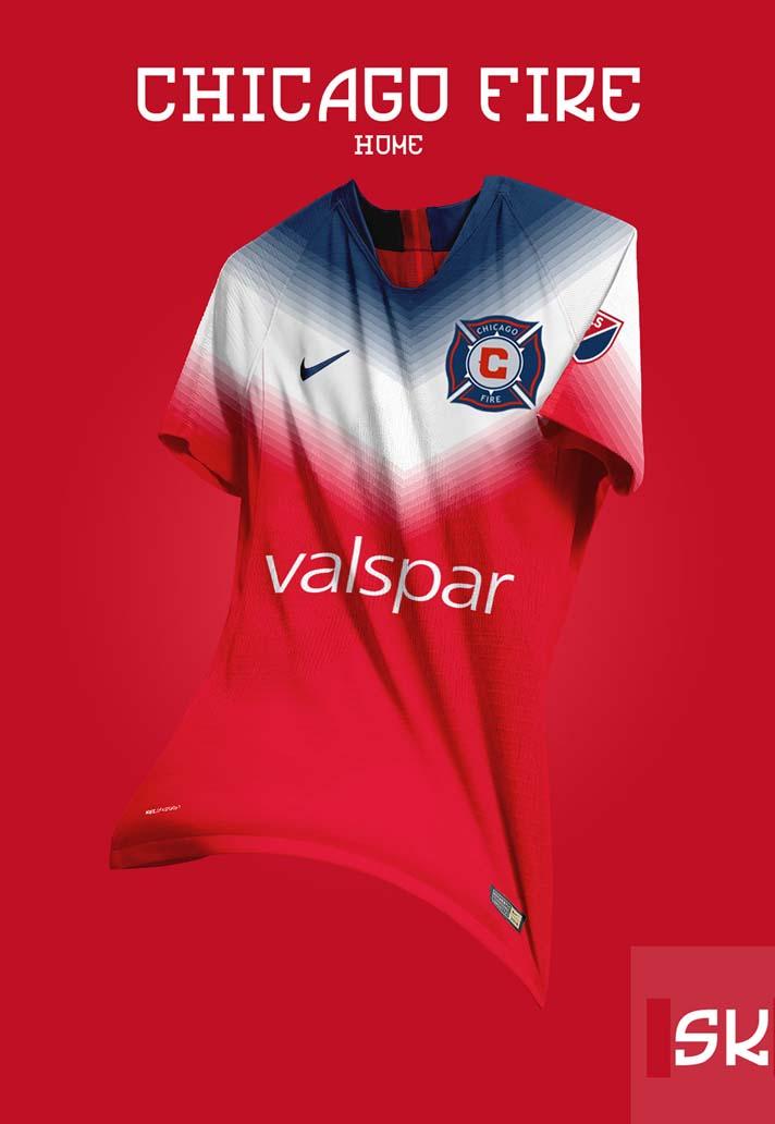 ed92f1bdb Graphic Designer Santi Kits Creates Concept Nike MLS Jerseys ...