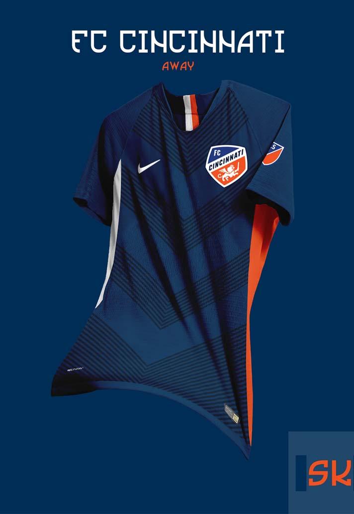fa62f10a5 Graphic Designer Santi Kits Creates Concept Nike MLS Jerseys ...