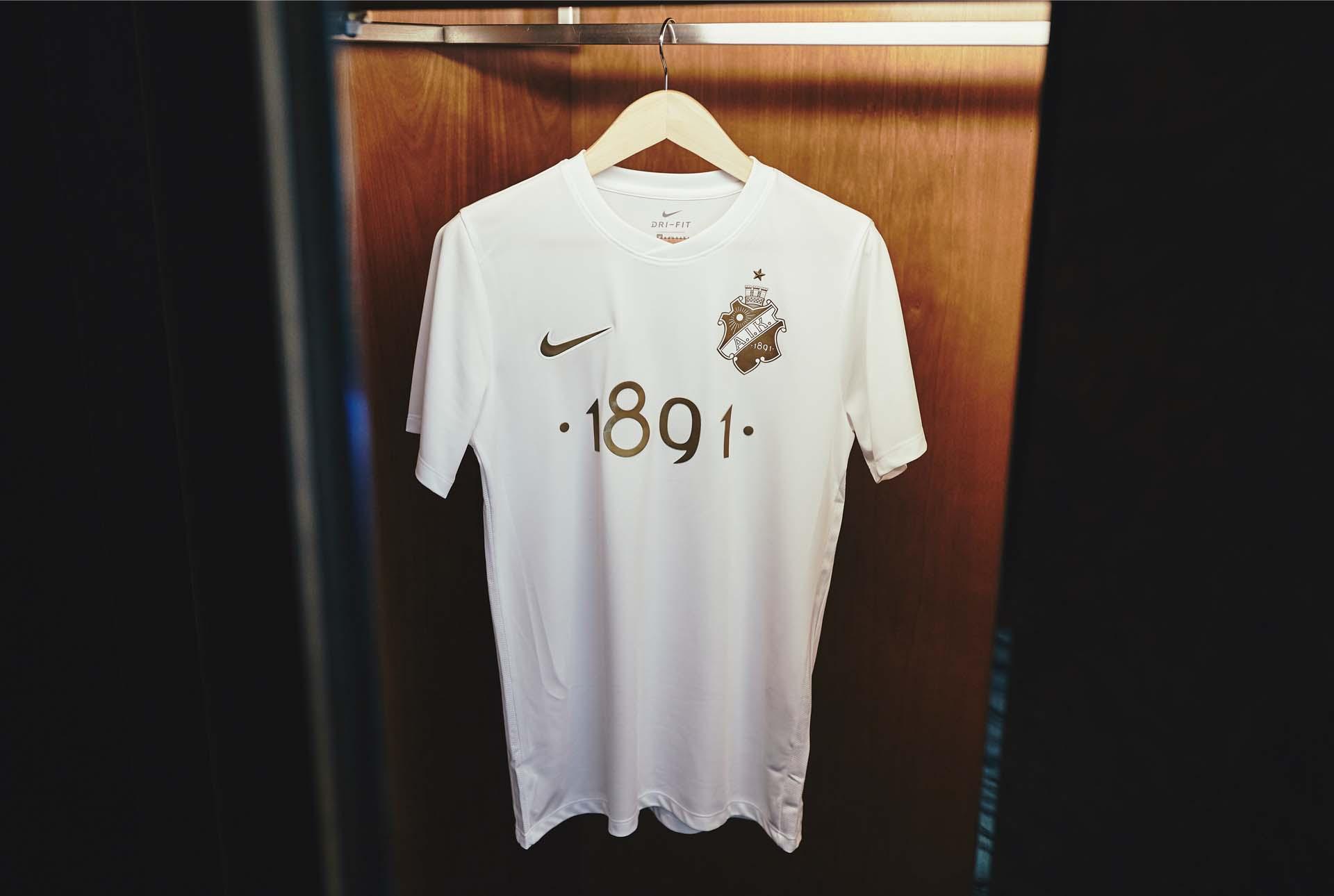 pretty nice e070d 45d54 Nike Launch Sublime AIK 1891 White Edition Jersey - SoccerBible