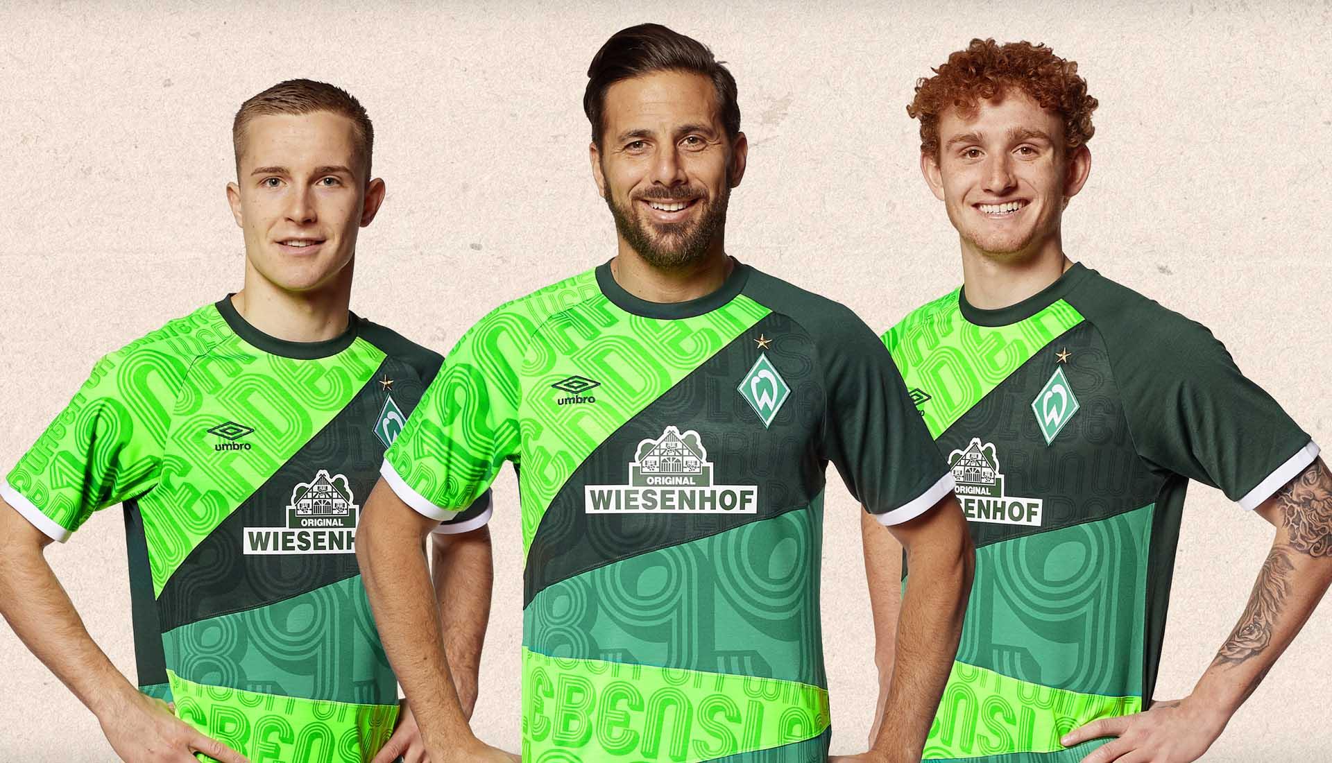 Umbro Launch Werder Bremen 120th Anniversary Shirt Soccerbible