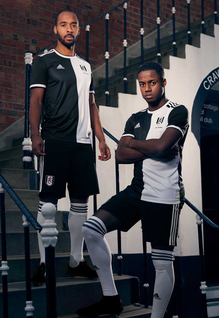 007f739b7 adidas   Fulham Launch Special Edition 140th Anniversary Kit ...