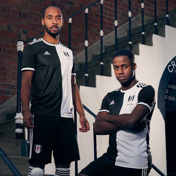 adidas   Fulham Launch Special Edition 140th Anniversary Kit. Football ... 7f0c4d437