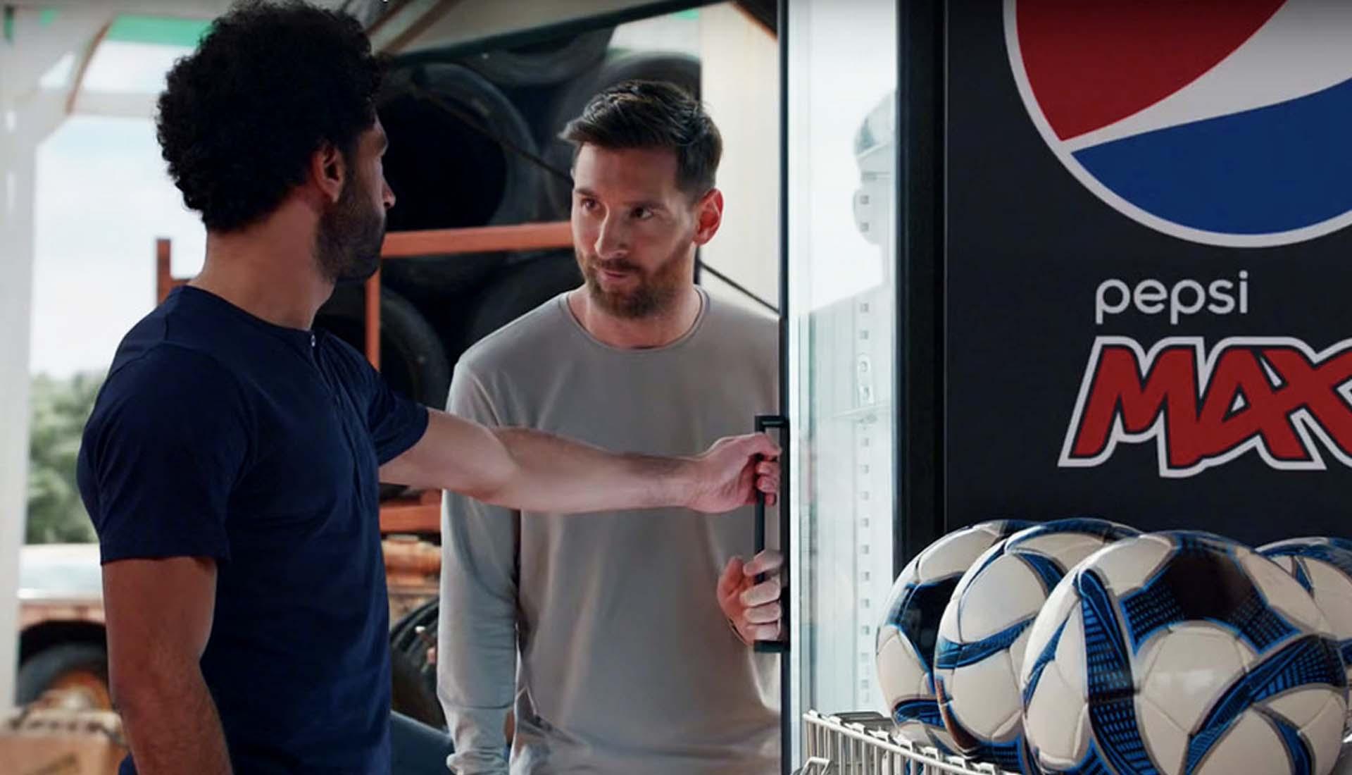 Messi Salah Star In New Pepsi Ad Soccerbible