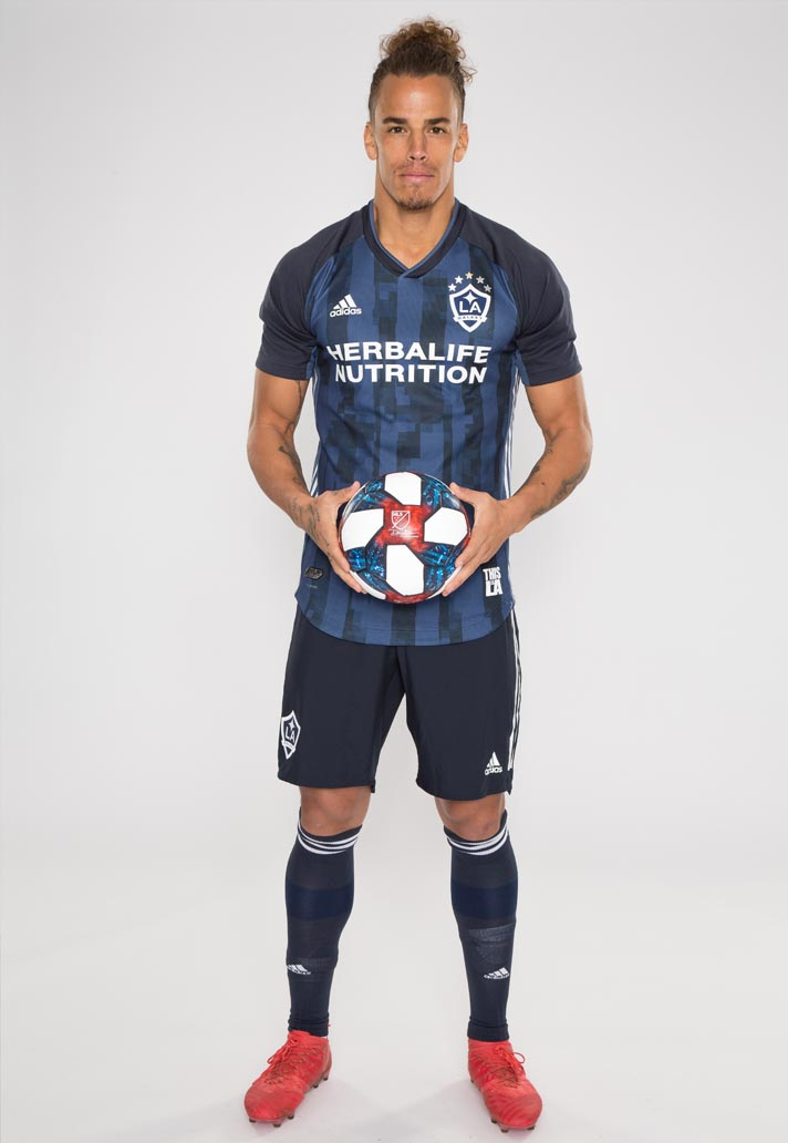 new styles ab90c b6ce0 adidas Launch LA Galaxy 2019 Away Jersey - SoccerBible