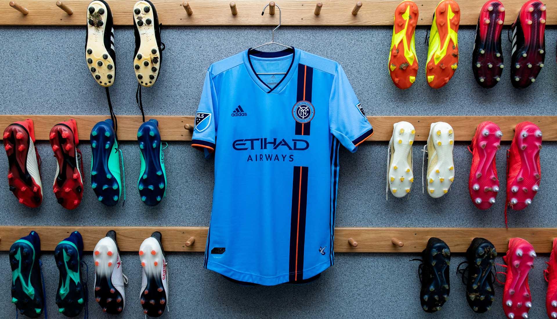 f779407b3 New York City FC Unveil 2019 adidas Home Shirt - SoccerBible