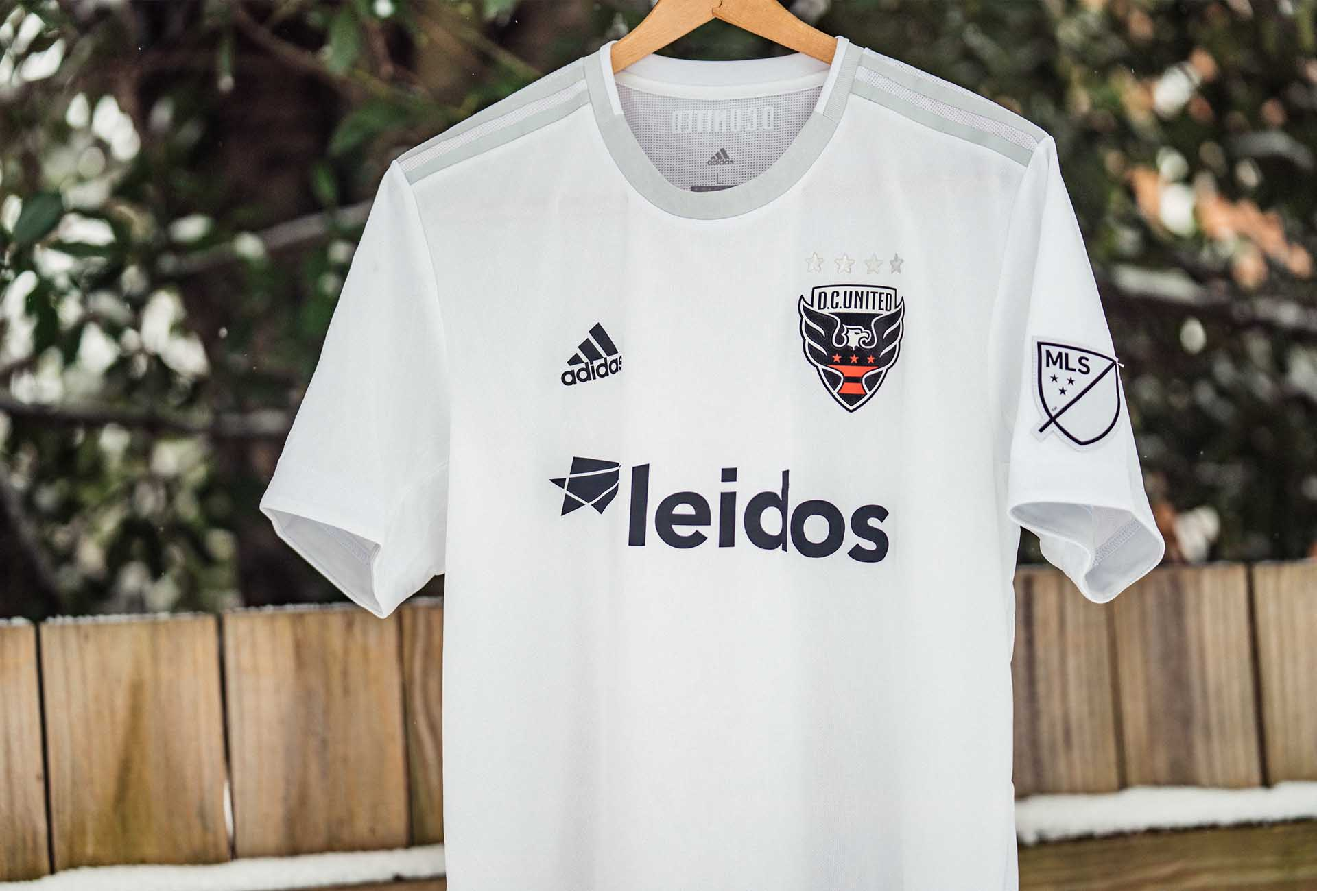 adidas Launch DC United 2019 Secondary Jersey - SoccerBible. 816b0f154