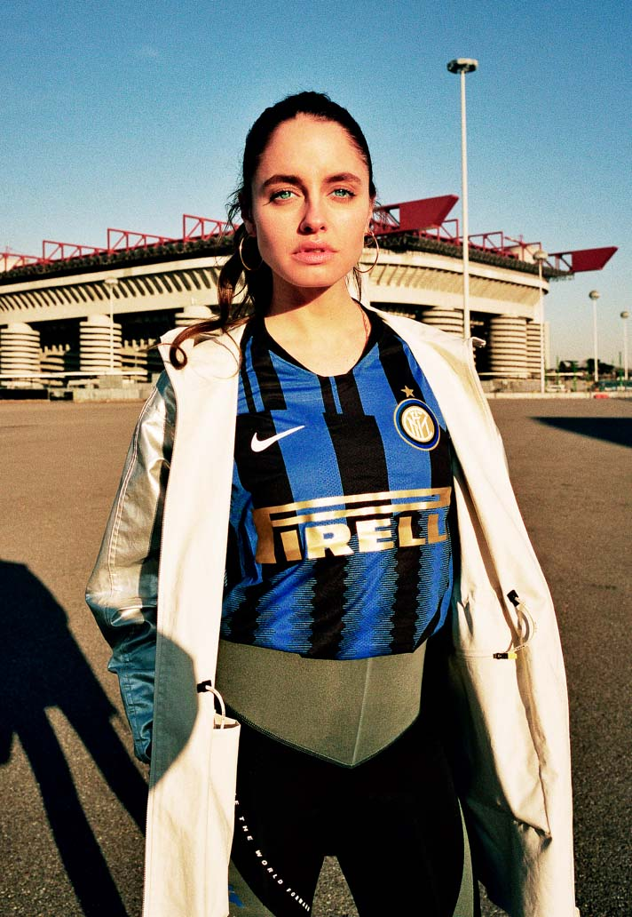 a7d72b397 Inter Milan & Nike Launch 20th Year Anniversary Jersey - SoccerBible