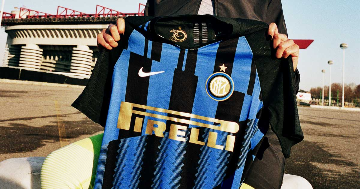 a54a341f5 Inter Milan & Nike Launch 20th Year Anniversary Jersey - SoccerBible.