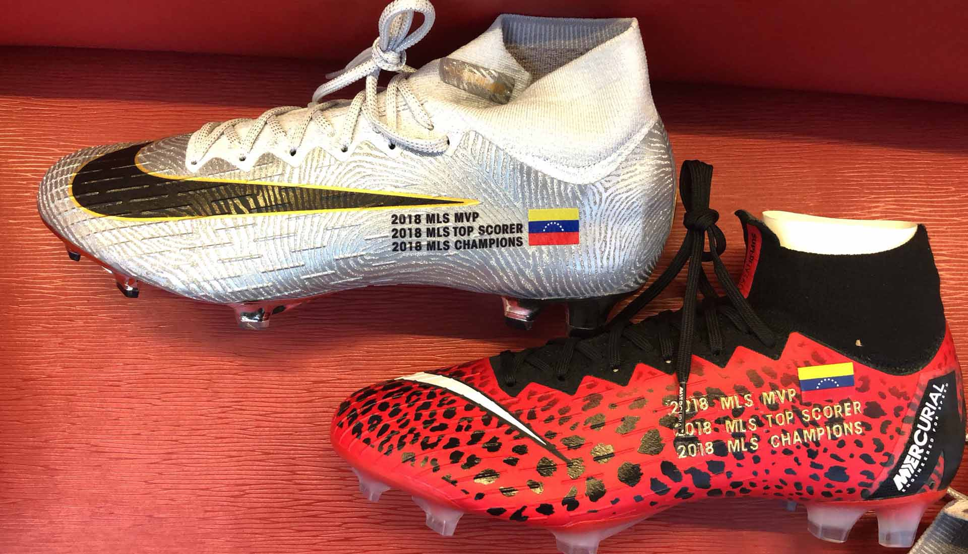 the latest 73e31 13abc Josef Martinez Receives Special Custom Nike Mercurial Superfly -  SoccerBible.