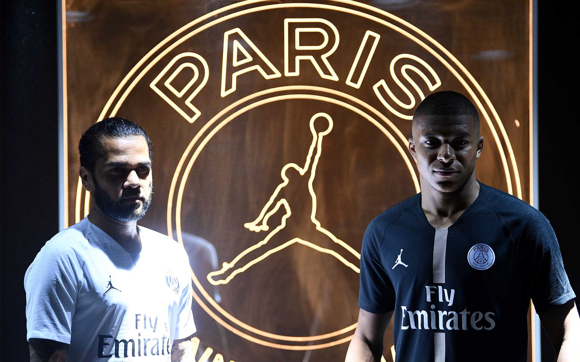 4b18e164d74 Primarily providing the team with its Champions League third kit, the PSG x  Jordan collection has since expanded to a full lifestyle collection that  sits ...