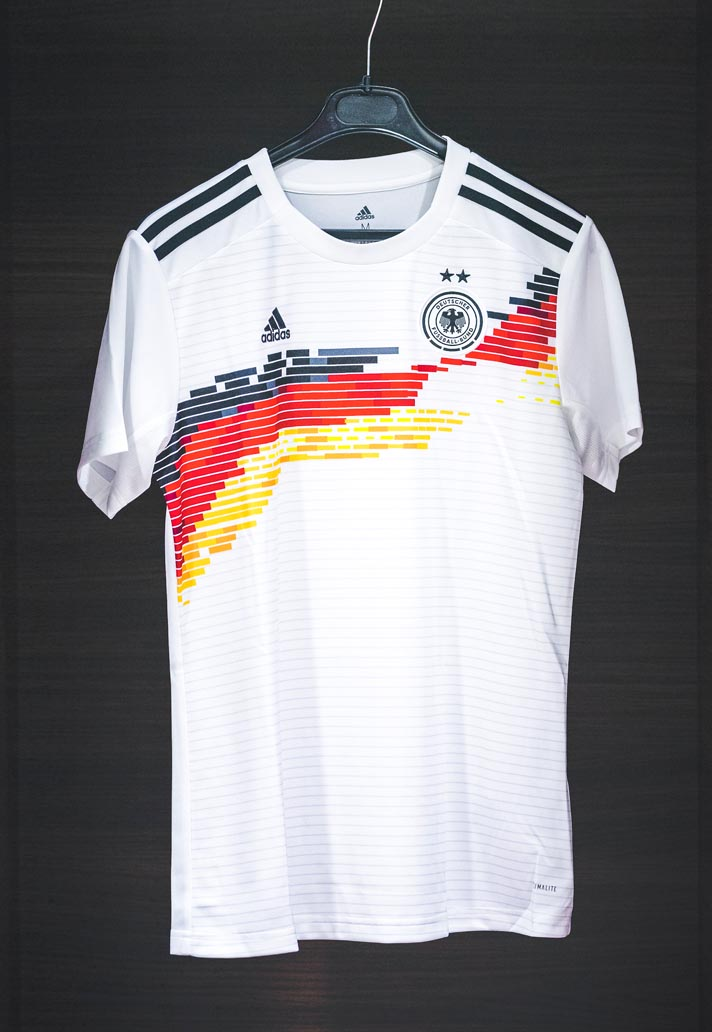 new concept b3ccd 2cade adidas Unveil Germany 2019 WWC Home Shirt - SoccerBible