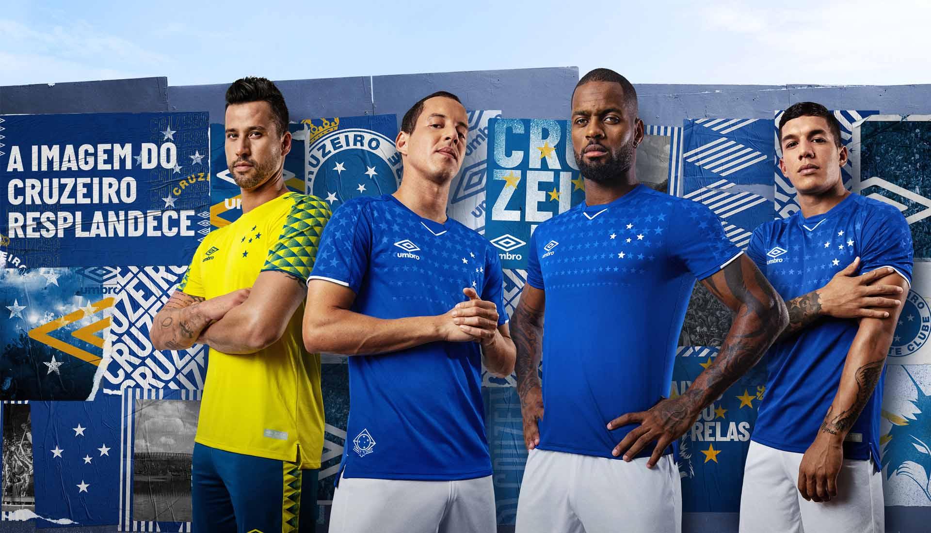 245efde49f0 Umbro Launch Cruzeiro 2019 Home Kit - SoccerBible.