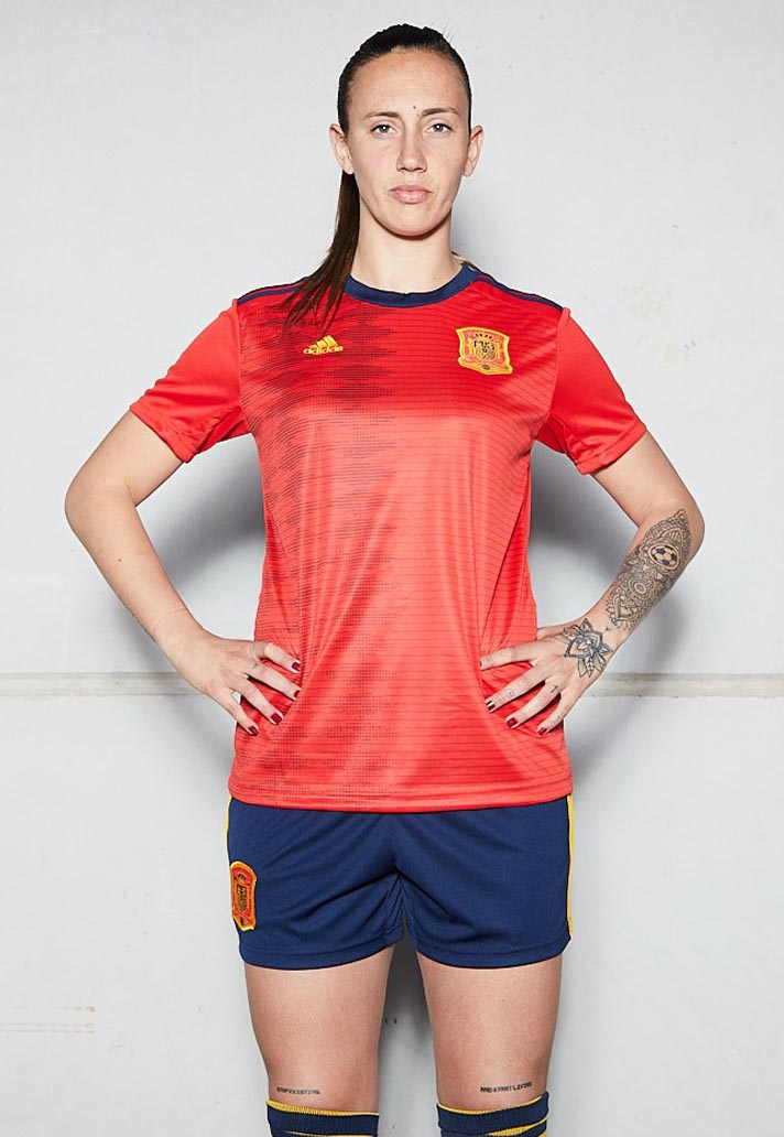01d9dcb6ea1 adidas Unveil The Spain 2019 WWC Home Shirt - SoccerBible.