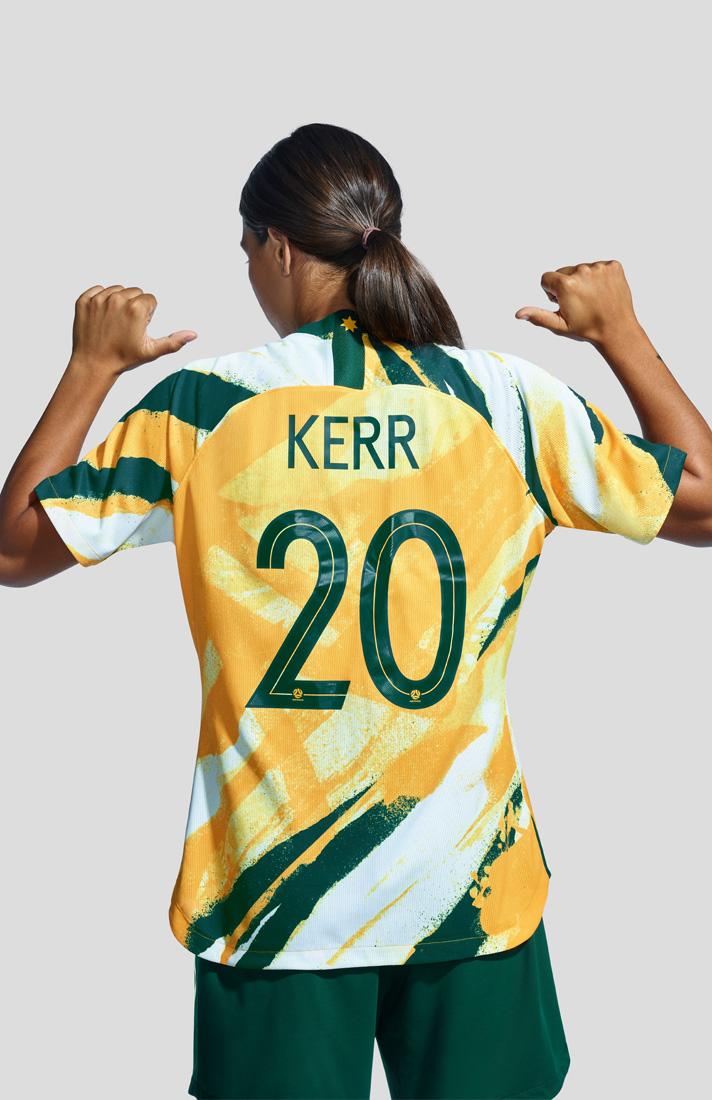 2ffeba3b347 Nike Unveil Stunning Matildas 2019 WWC Home Shirt - SoccerBible