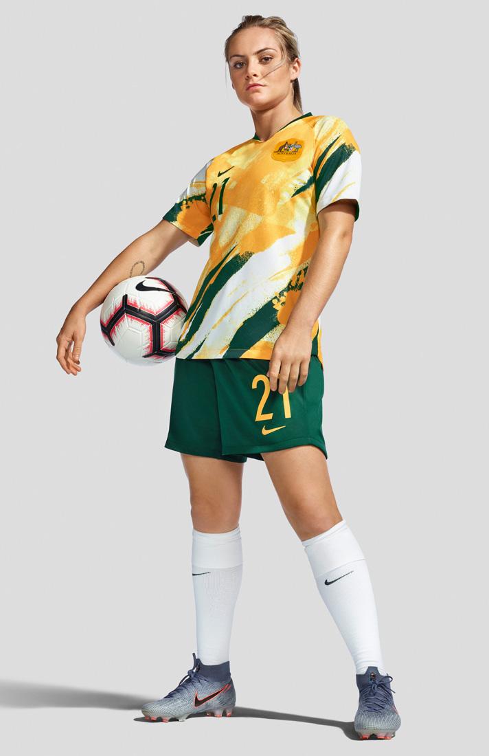 equilibrado Normal folleto  Nike Unveil Stunning Matildas 2019 WWC Home Shirt - SoccerBible
