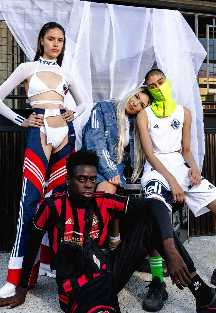 adidas Host 2019 MLS Fashion Show in LA - SoccerBible